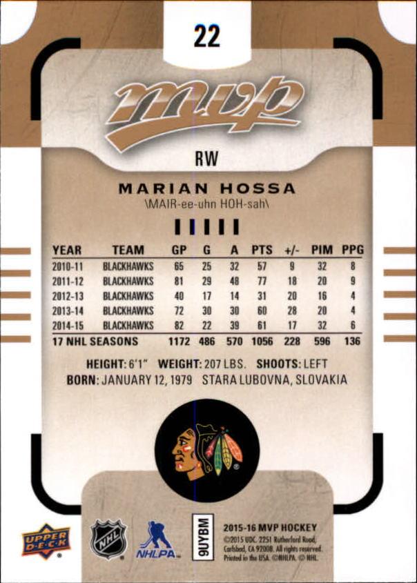 2015-16-Upper-Deck-MVP-Hockey-Card-Pick thumbnail 45