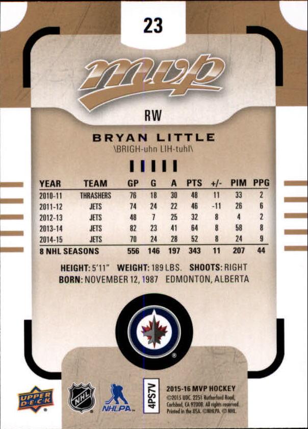 2015-16-Upper-Deck-MVP-Hockey-Card-Pick thumbnail 47