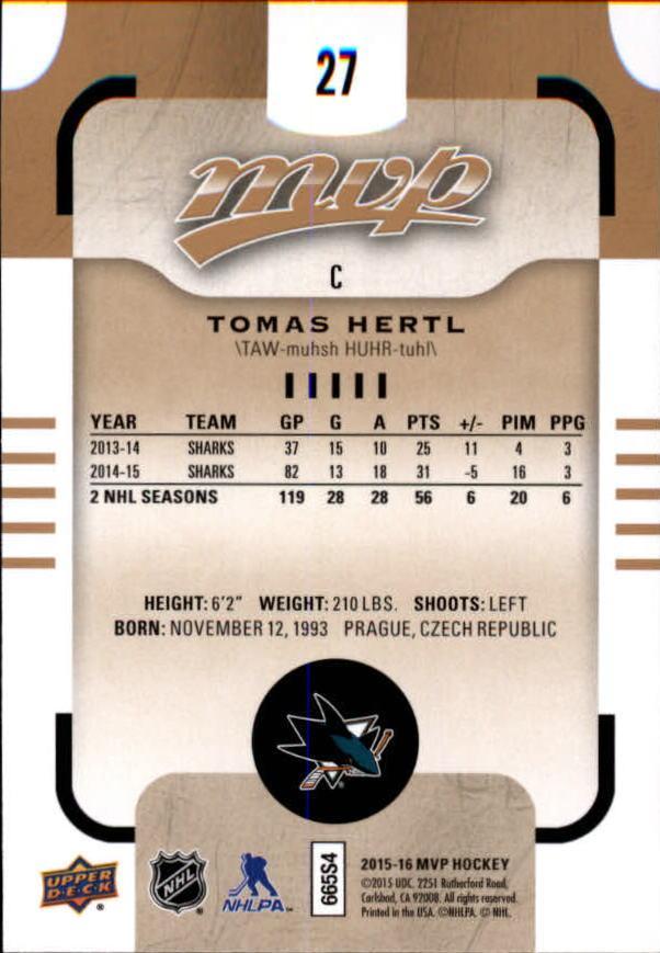 2015-16-Upper-Deck-MVP-Hockey-Card-Pick thumbnail 55