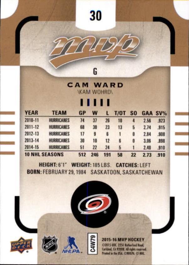2015-16-Upper-Deck-MVP-Hockey-Card-Pick thumbnail 61