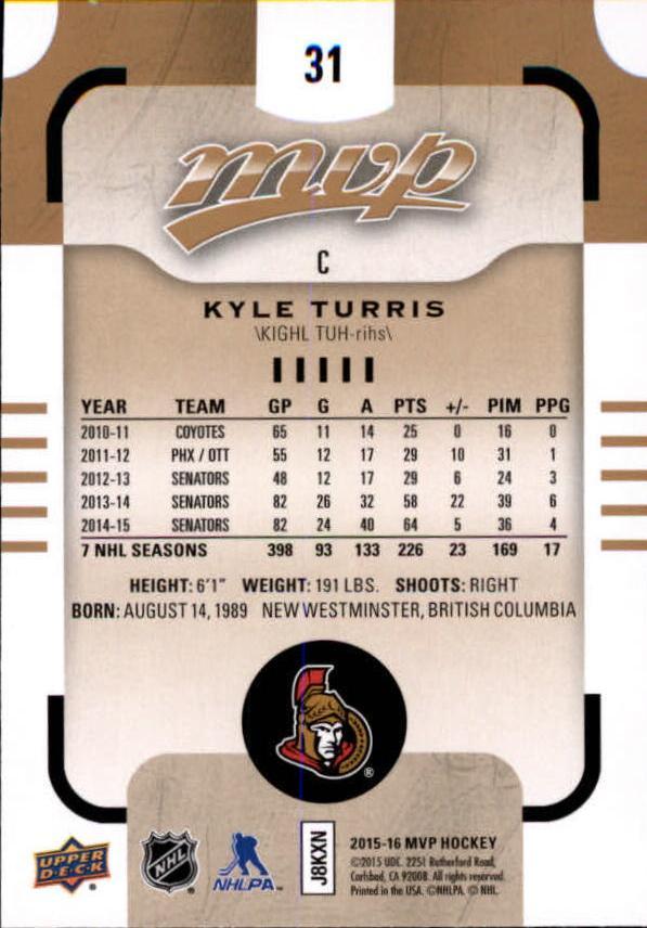 2015-16-Upper-Deck-MVP-Hockey-Card-Pick thumbnail 63