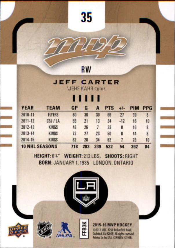 2015-16-Upper-Deck-MVP-Hockey-Card-Pick thumbnail 71