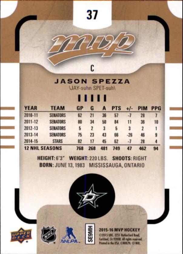 2015-16-Upper-Deck-MVP-Hockey-Card-Pick thumbnail 75