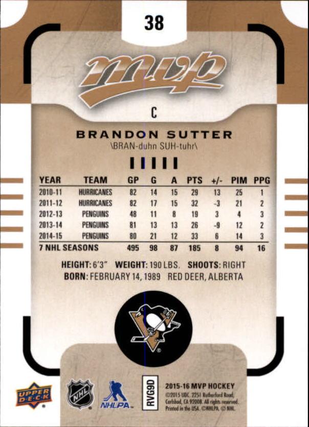 2015-16-Upper-Deck-MVP-Hockey-Card-Pick thumbnail 77