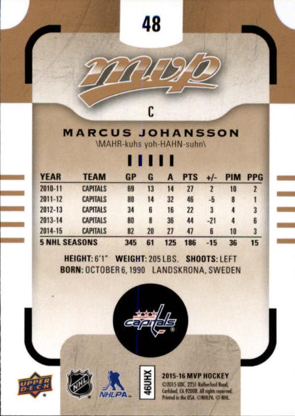 2015-16-Upper-Deck-MVP-Hockey-Card-Pick thumbnail 97