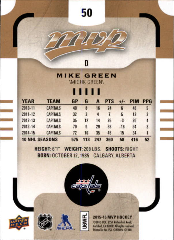 2015-16-Upper-Deck-MVP-Hockey-Card-Pick thumbnail 101
