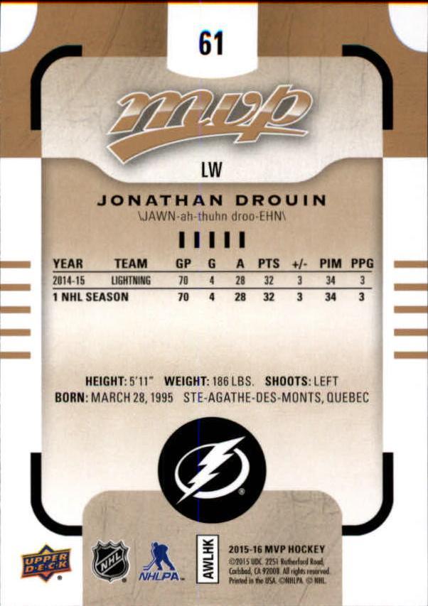 2015-16-Upper-Deck-MVP-Hockey-Card-Pick thumbnail 123