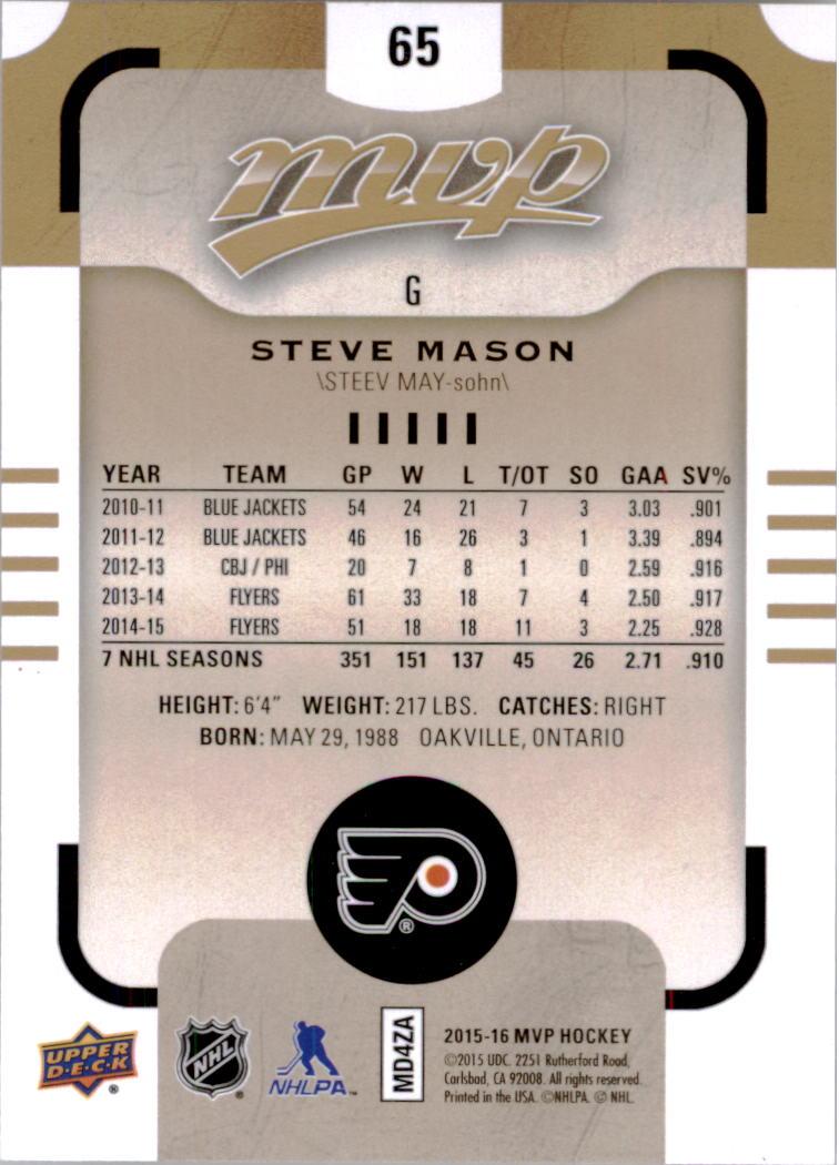 2015-16-Upper-Deck-MVP-Hockey-Card-Pick thumbnail 131