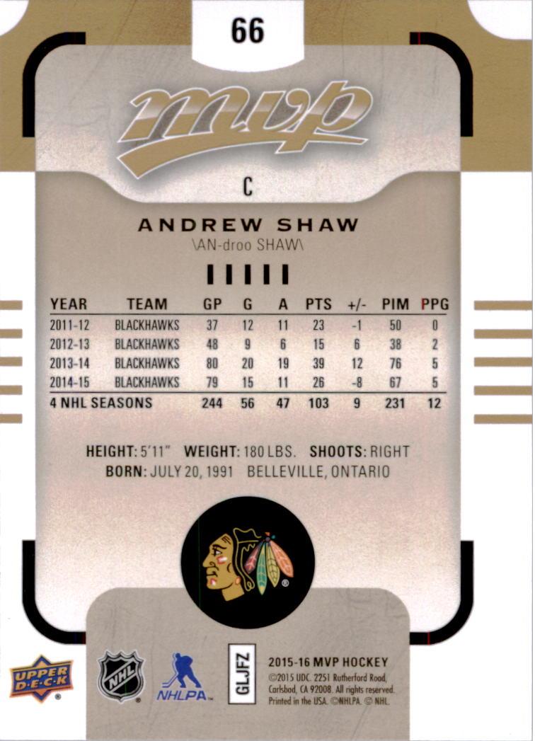 2015-16-Upper-Deck-MVP-Hockey-Card-Pick thumbnail 133