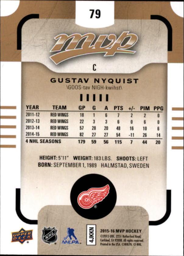 2015-16-Upper-Deck-MVP-Hockey-Card-Pick thumbnail 159