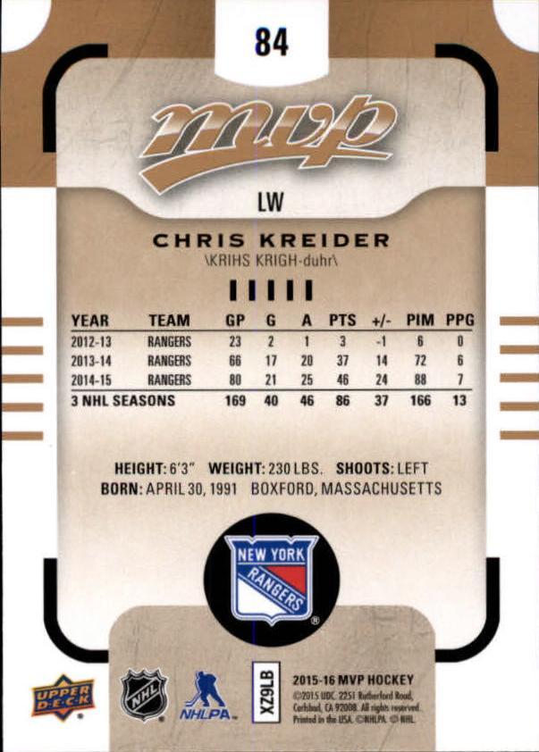 2015-16-Upper-Deck-MVP-Hockey-Card-Pick thumbnail 169