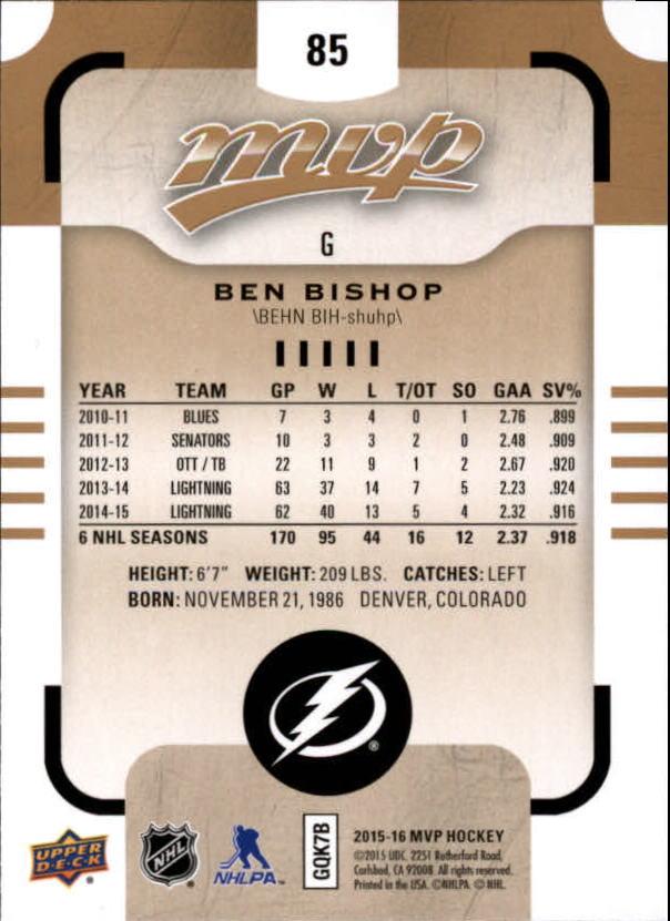 2015-16-Upper-Deck-MVP-Hockey-Card-Pick thumbnail 171