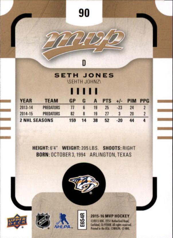 2015-16-Upper-Deck-MVP-Hockey-Card-Pick thumbnail 181