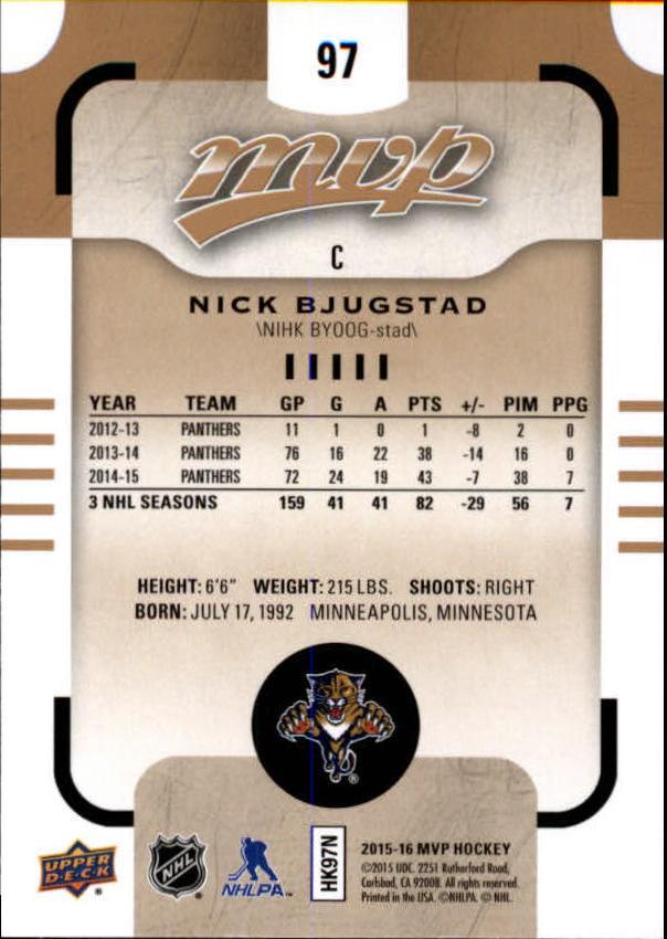 2015-16-Upper-Deck-MVP-Hockey-Card-Pick thumbnail 195