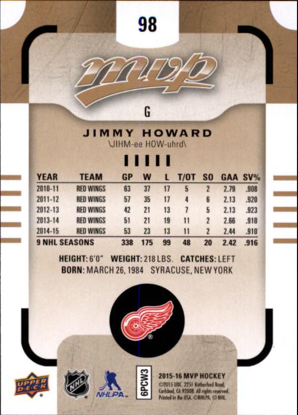 2015-16-Upper-Deck-MVP-Hockey-Card-Pick thumbnail 197