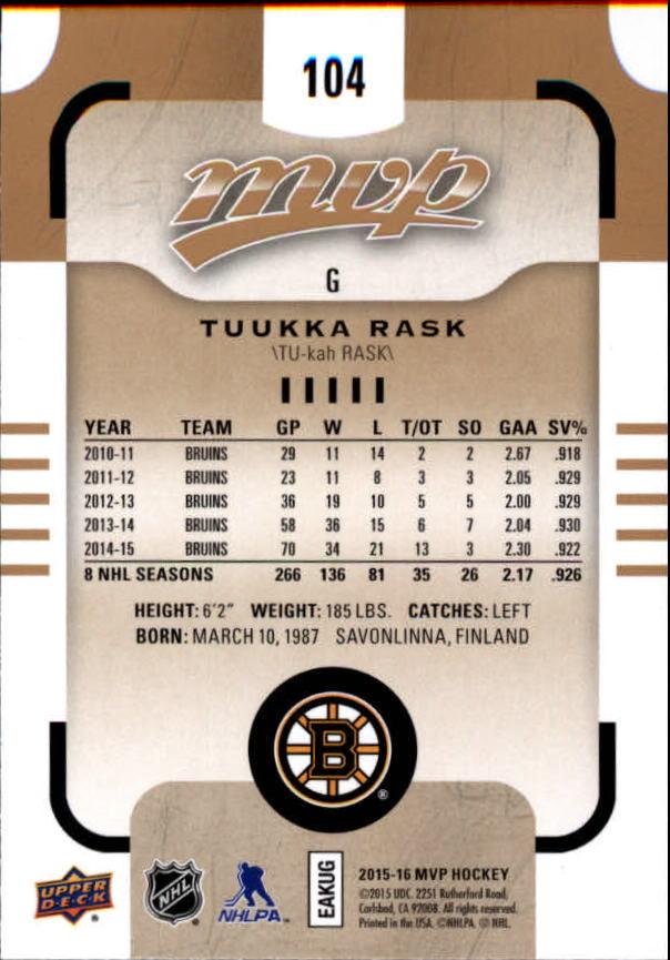 2015-16-Upper-Deck-MVP-Hockey-Card-Pick thumbnail 209