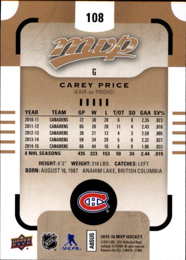 2015-16-Upper-Deck-MVP-Hockey-Card-Pick thumbnail 217