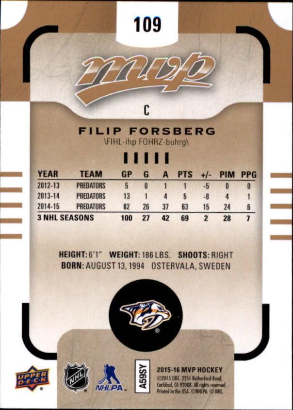 2015-16-Upper-Deck-MVP-Hockey-Card-Pick thumbnail 219