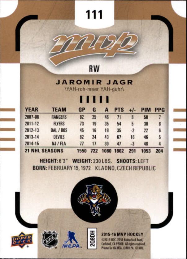 2015-16-Upper-Deck-MVP-Hockey-Card-Pick thumbnail 221