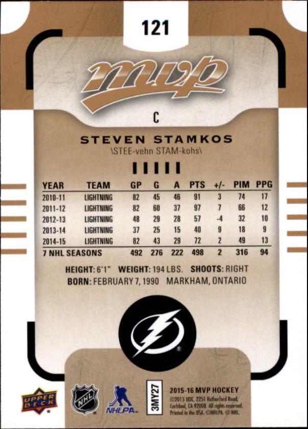 2015-16-Upper-Deck-MVP-Hockey-Card-Pick thumbnail 233