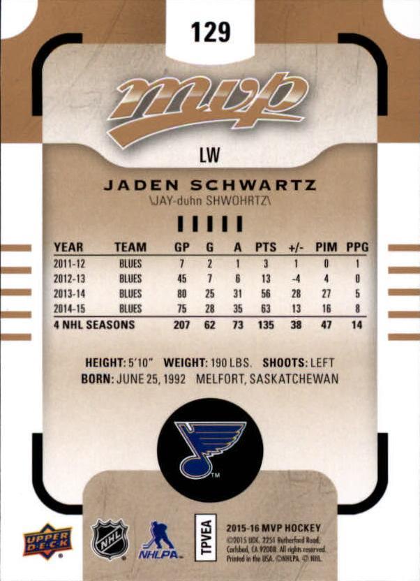 2015-16-Upper-Deck-MVP-Hockey-Card-Pick thumbnail 239