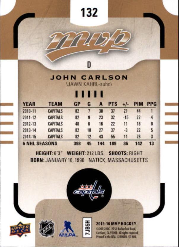 2015-16-Upper-Deck-MVP-Hockey-Card-Pick thumbnail 243