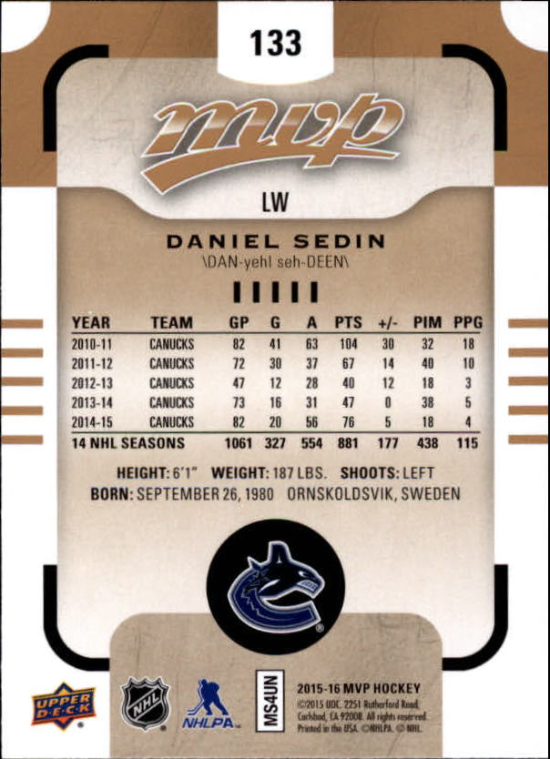 2015-16-Upper-Deck-MVP-Hockey-Card-Pick thumbnail 245