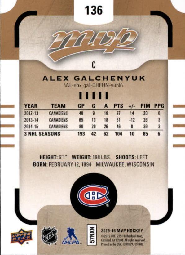 2015-16-Upper-Deck-MVP-Hockey-Card-Pick thumbnail 247