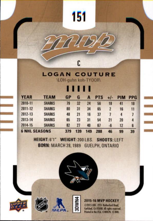 2015-16-Upper-Deck-MVP-Hockey-Card-Pick thumbnail 265
