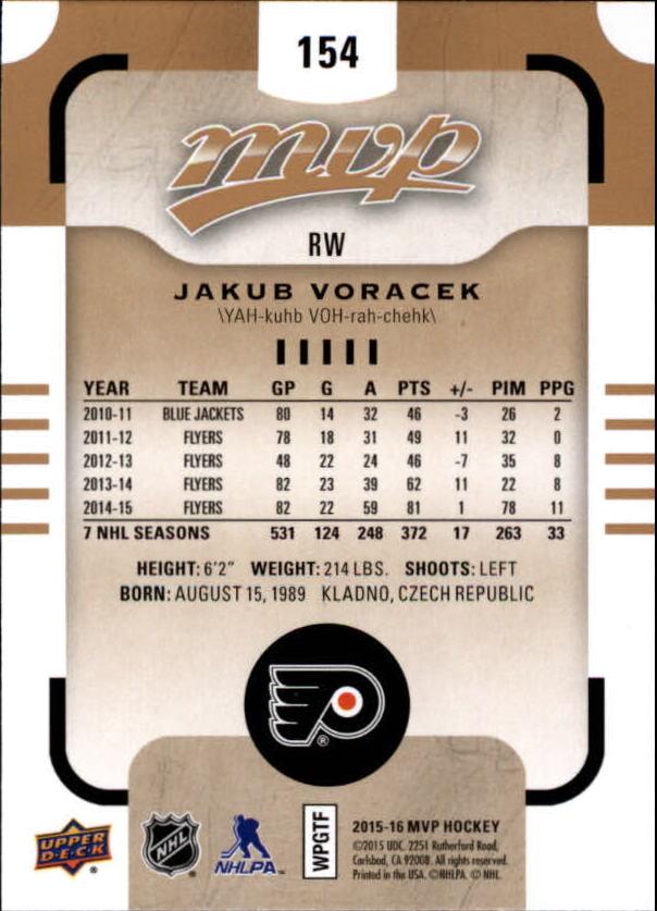 2015-16-Upper-Deck-MVP-Hockey-Card-Pick thumbnail 269