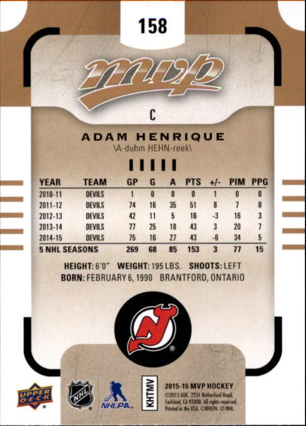 2015-16-Upper-Deck-MVP-Hockey-Card-Pick thumbnail 273