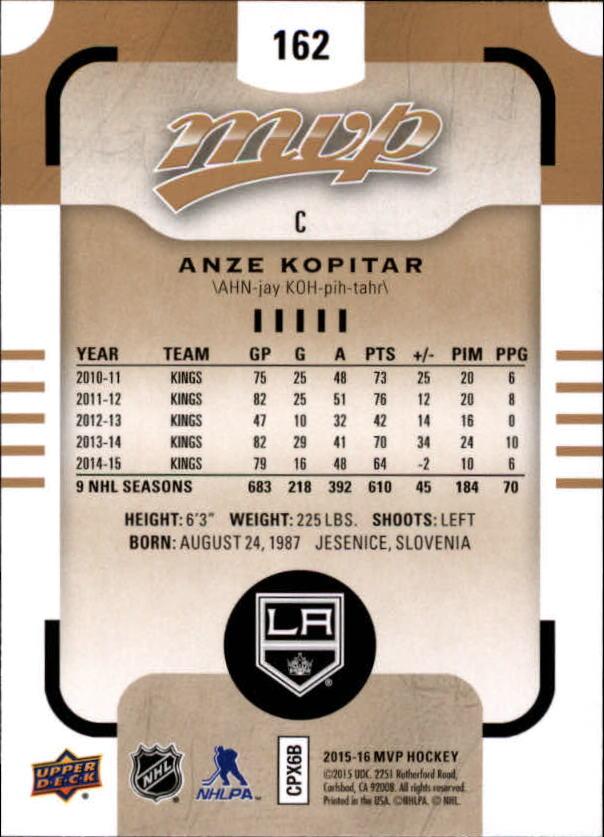 2015-16-Upper-Deck-MVP-Hockey-Card-Pick thumbnail 279