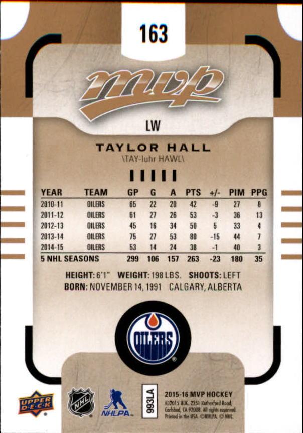 2015-16-Upper-Deck-MVP-Hockey-Card-Pick thumbnail 281