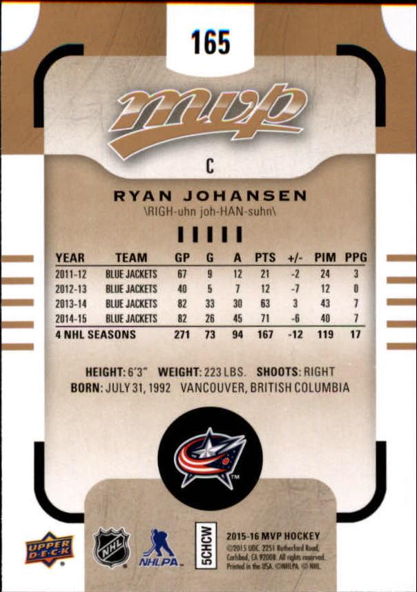 2015-16-Upper-Deck-MVP-Hockey-Card-Pick thumbnail 283