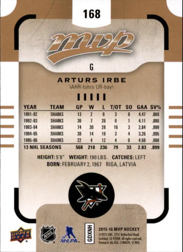 2015-16-Upper-Deck-MVP-Hockey-Card-Pick thumbnail 285