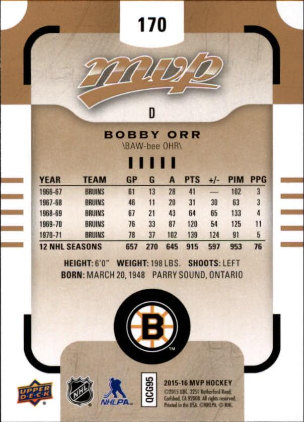 2015-16-Upper-Deck-MVP-Hockey-Card-Pick thumbnail 289