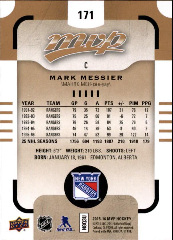2015-16-Upper-Deck-MVP-Hockey-Card-Pick thumbnail 291