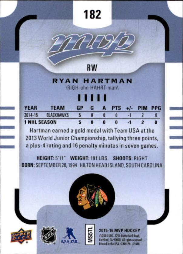 2015-16-Upper-Deck-MVP-Hockey-Card-Pick thumbnail 301