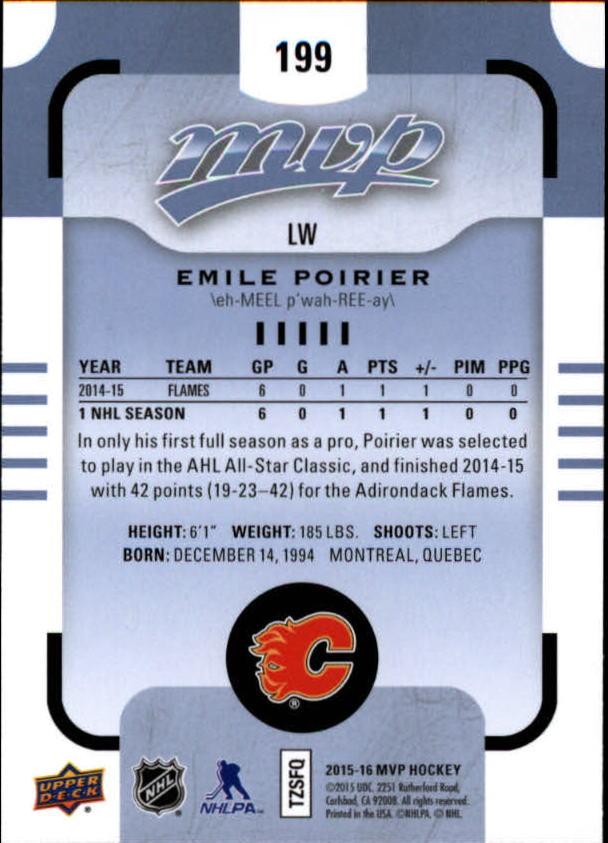 2015-16-Upper-Deck-MVP-Hockey-Card-Pick thumbnail 311