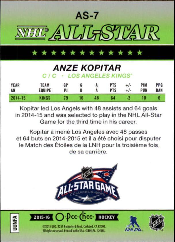 2015-16-O-Pee-Chee-Hockey-All-Star-Glossy-Inserts-You-Choose