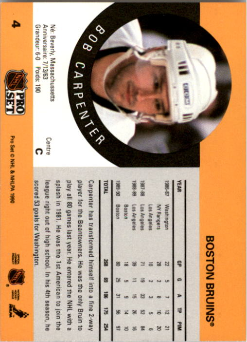 1990-91-Pro-Set-Hockey-Cards-1-222-Rookies-You-Pick-Buy-10-cards-FREE-SHIP thumbnail 9