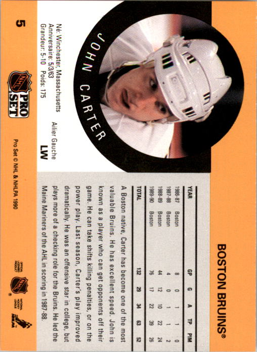 1990-91-Pro-Set-Hockey-Cards-1-222-Rookies-You-Pick-Buy-10-cards-FREE-SHIP thumbnail 11