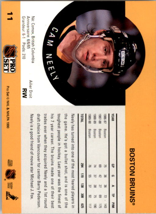 1990-91-Pro-Set-Hockey-Cards-1-222-Rookies-You-Pick-Buy-10-cards-FREE-SHIP thumbnail 23