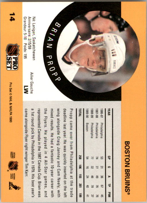 1990-91-Pro-Set-Hockey-Cards-1-222-Rookies-You-Pick-Buy-10-cards-FREE-SHIP thumbnail 29