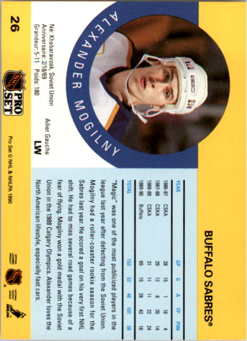 1990-91-Pro-Set-Hockey-Cards-1-222-Rookies-You-Pick-Buy-10-cards-FREE-SHIP thumbnail 53
