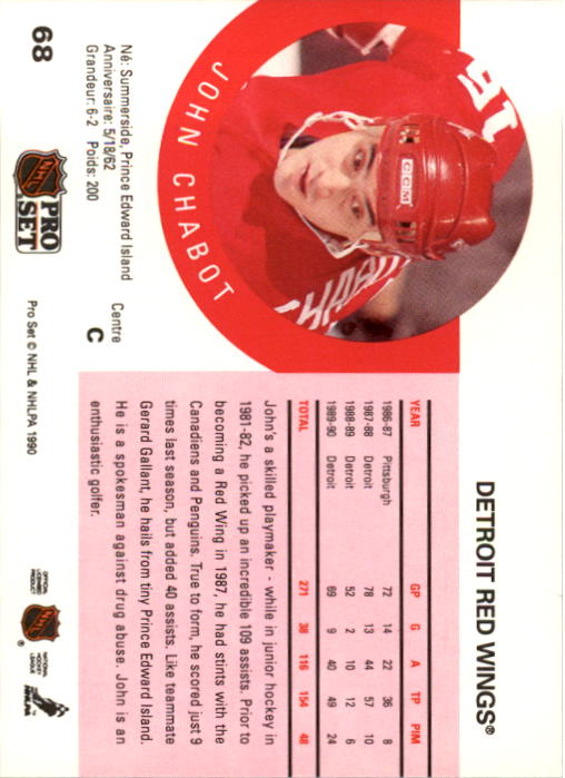 1990-91-Pro-Set-Hockey-Cards-1-222-Rookies-You-Pick-Buy-10-cards-FREE-SHIP thumbnail 135