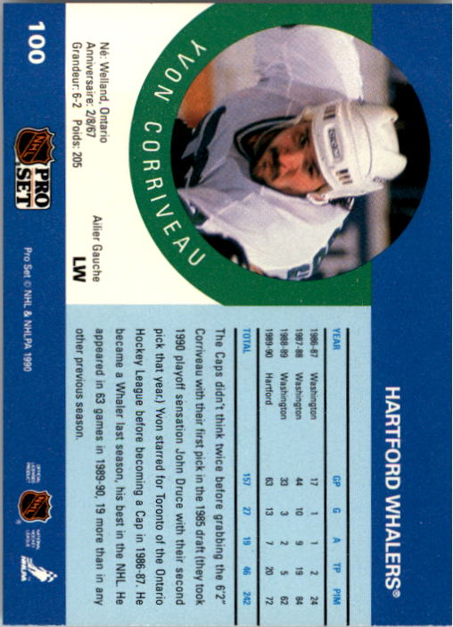 1990-91-Pro-Set-Hockey-Cards-1-222-Rookies-You-Pick-Buy-10-cards-FREE-SHIP thumbnail 199
