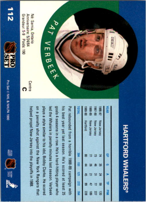 1990-91-Pro-Set-Hockey-Cards-1-222-Rookies-You-Pick-Buy-10-cards-FREE-SHIP thumbnail 223