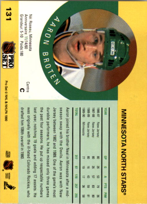 1990-91-Pro-Set-Hockey-Cards-1-222-Rookies-You-Pick-Buy-10-cards-FREE-SHIP thumbnail 261