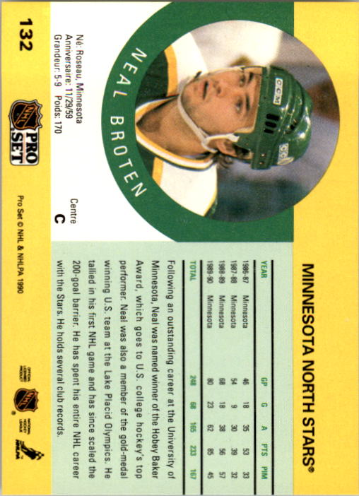 1990-91-Pro-Set-Hockey-Cards-1-222-Rookies-You-Pick-Buy-10-cards-FREE-SHIP thumbnail 263